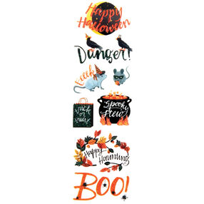 Animal Masquerade Phrase Stickers_48-20284