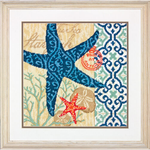 Starfish, Needlepoint_71-20075