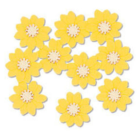 Yellow Verbena Embellishment_JJAA046A