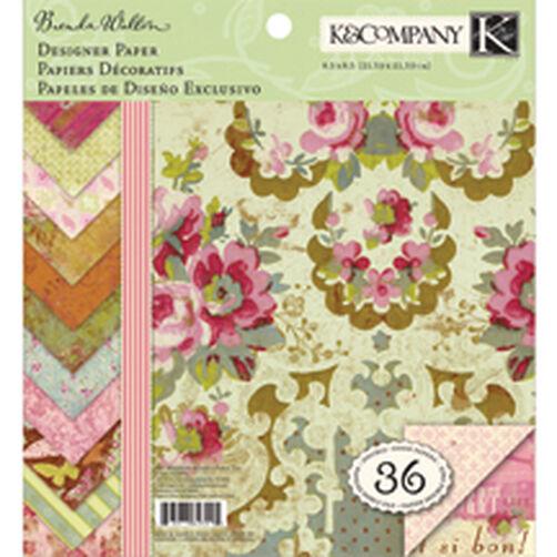 Brenda Walton Madeline 8.5x8.5 Paper Pad_623095