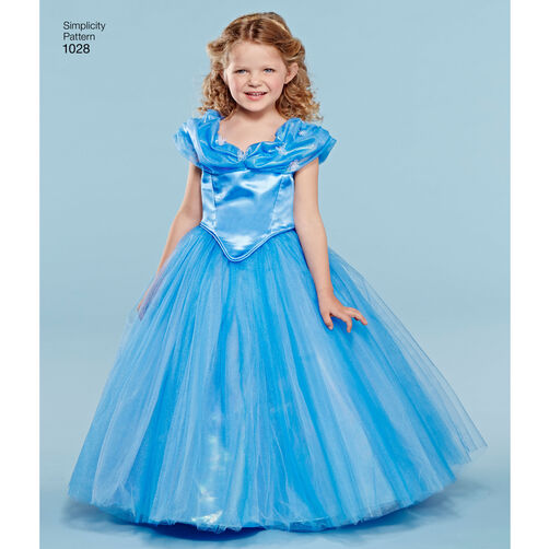 Pattern For Disney Cinderella Costume For Child And 18