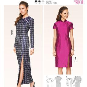 Burda Style Pattern 6830 Dresses