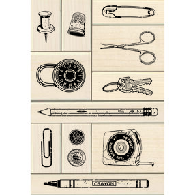 Junk Drawer Wood Stamp Set_60-10142