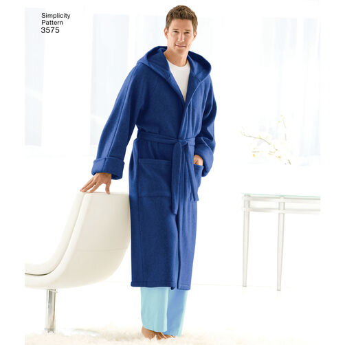 Pattern For Child S Teens Amp Adults Robe Simplicity