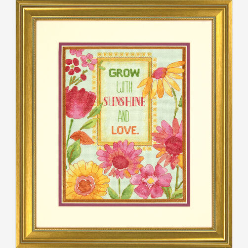 Painted Daisy Verse Counted Cross Stitch_70-35303