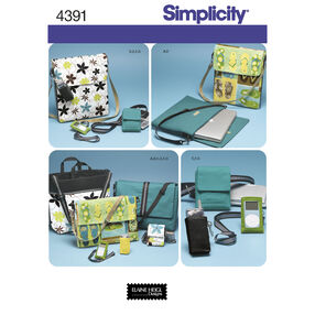 Simplicity Pattern 4391 Bags & Accessories