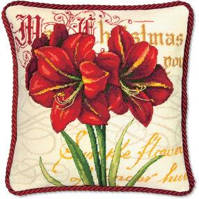 Elegant Amaryllis, Needlepoint_71-09148
