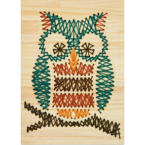 Owl Yarn Art, Embroidery_72-74210