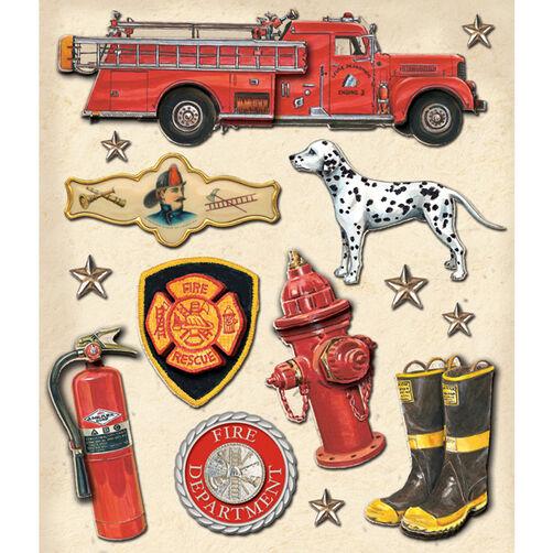 Firefighter Sticker Medley_30-588400