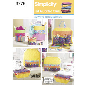 Simplicity Pattern 3776 Sewing Accessories