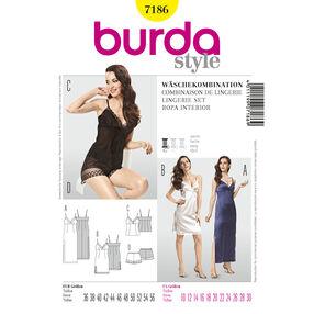 Burda Style Pattern 7186 Lingerie Set