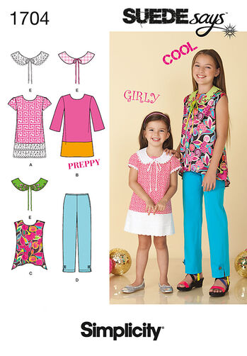 Child's and Girl's Separates SUEDEsays Collection