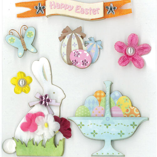 Easter Greetings Dimensional Sticker_30-577725