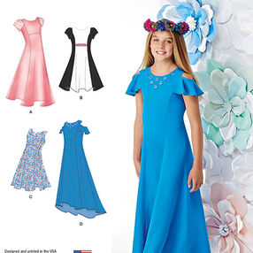 Girls' and Girls' Plus Dresses