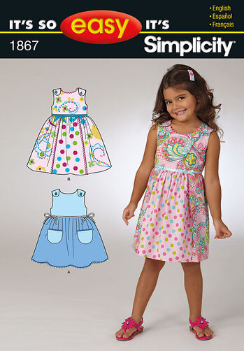 It's So Easy Child's Dresses