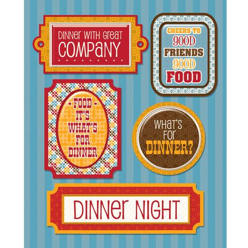 Dinner Night Sticker Medley_30-586239