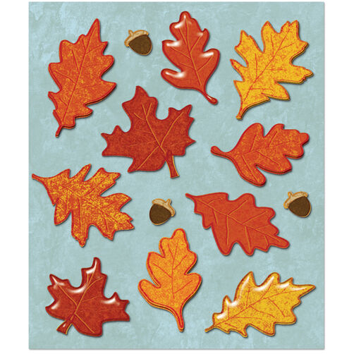 Leaves Sticker Medley_30-586031