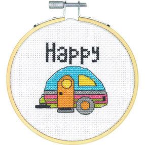 Happy Camper, Counted Cross Stitch_72-74832