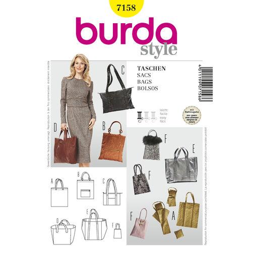 Burda Style Pattern 7158 Bags