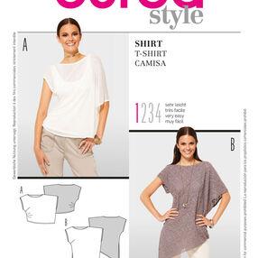 Burda Style Pattern 7340 T-Shirt