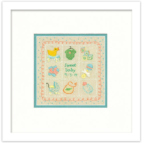 Baby Sampler, Embroidery_72-74051