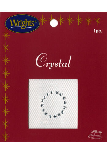 "1"" Crystal Number Iron On"