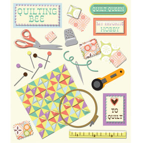 Quilting Sticker Medley_30-586376