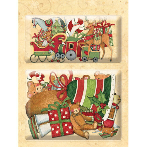 Susan Winget Glad Tidings Sleigh & Deer Layered Accents_30-595491