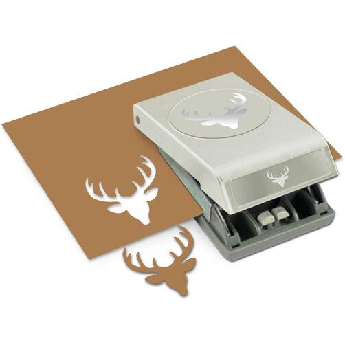 Deer Head Large Punch_54-30220
