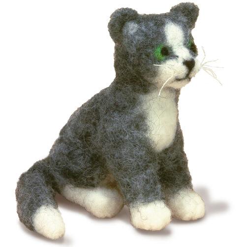 Cat Felted Character Needle Felting Kit_72-73799