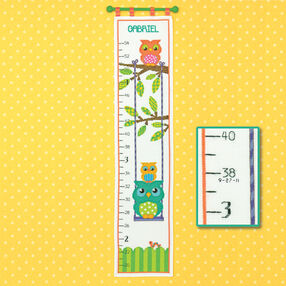 Owl Growth Chart, Counted Cross Stitch_70-73700
