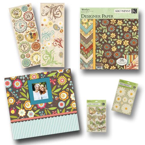 Wild Saffron Scrapbook Kit_30-629097