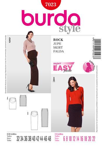Burda Style Pattern 7023 Skirt