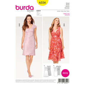 Burda Style Pattern B6554 Misses' Shift Dress