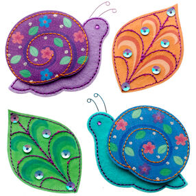 Colorful Snails Stickers_50-21300