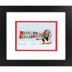 Christmas Penguin, Counted Cross Stitch_70-08950