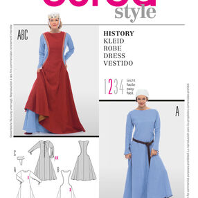Burda Style Pattern 7977 History Dress