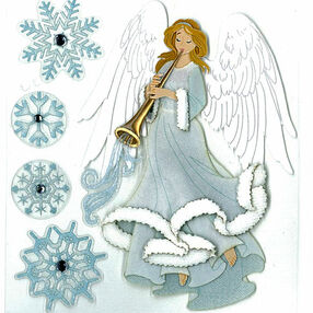 Winter Angel Stickers_50-20088