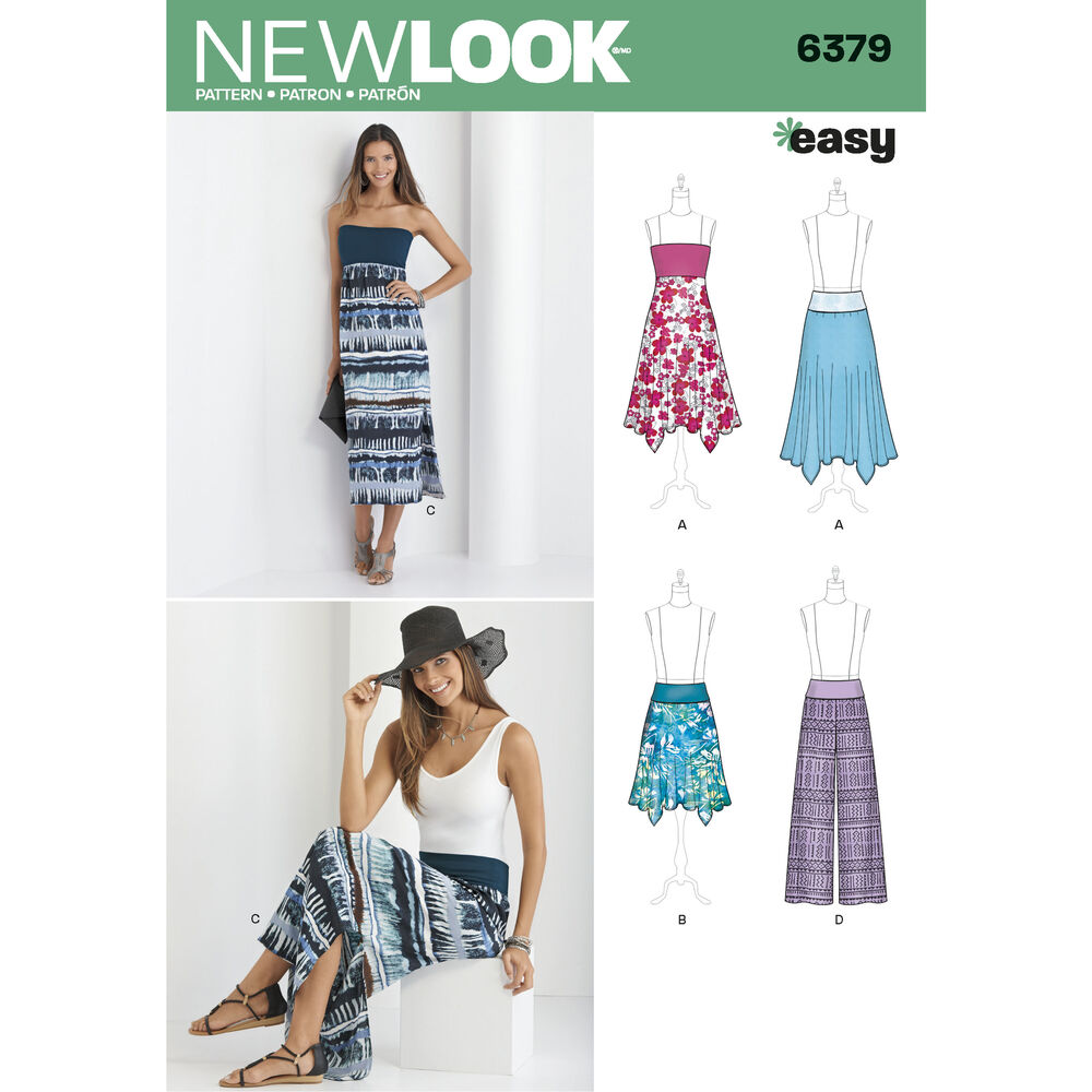 pattern for misses skirt and convertible maxi