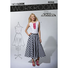 New Look Pattern 6056 Misses' Skirts & Top