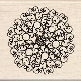 Metalwork Ornate Circle _60-00142