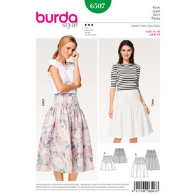 Burda Style Pattern B6507 Misses' Pleated Skirt