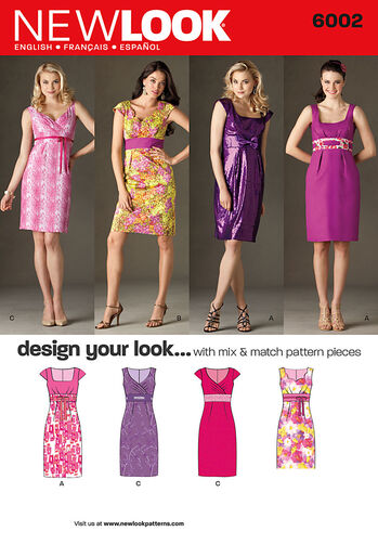 Misses' Design Your Look Dresses