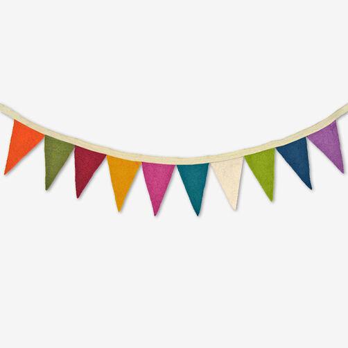 Mini Wool Felt Pennant Banner_72-74009