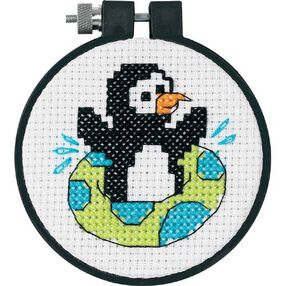 Playful Penguin, Counted Cross Stitch_73269
