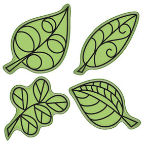 Falling Leaves Cling Stamp Set_60-60334