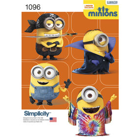 Simplicity Pattern 1096 Child's Minion Costumes