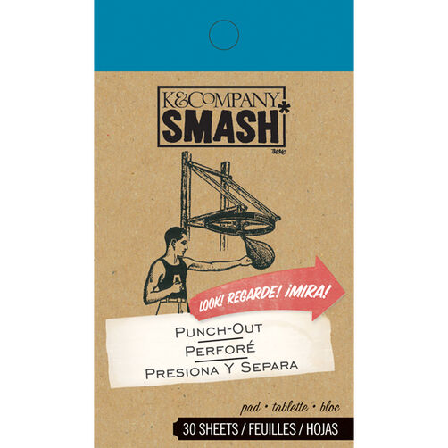 K&Company SMASH Punch-Out Pad_30-671645