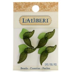 Skinny Green Leaf Beads_56-10026