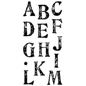 Artstamp Large Alphabet_97714